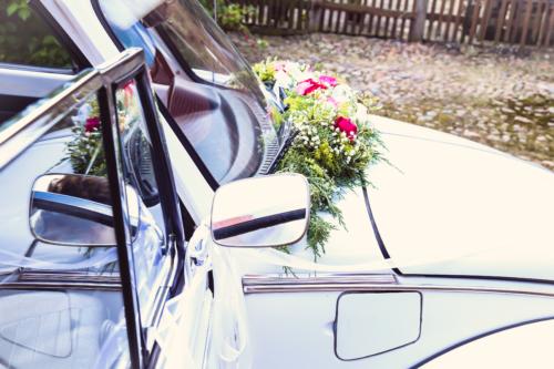 Hochzeit, Hochzeitsauto